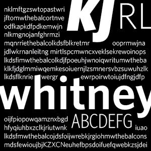 Whitney: good alternative for Helvetica
