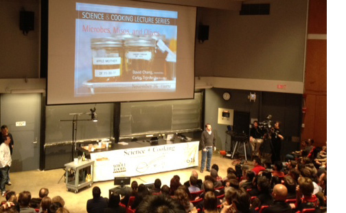 Harvard Science and Cooking Lecture