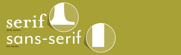 serif vs san serif