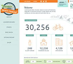 MassCommute Bicycle Challenge Website & Logo