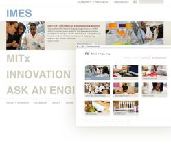 MIT School of Engineering Website Design