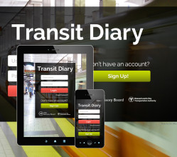 Responsive Website Design — MBTA Transit Diary