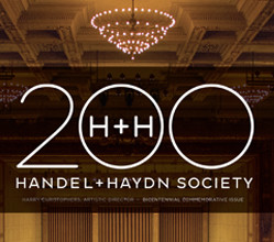 Handel and Haydn Society Bicentennial Magazine