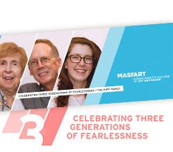 MassArt Alumni Timeline Brochure