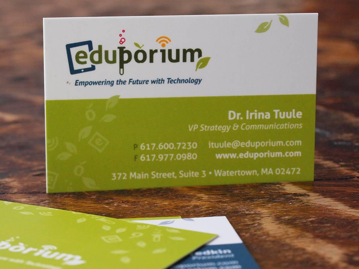Eduporium logo design