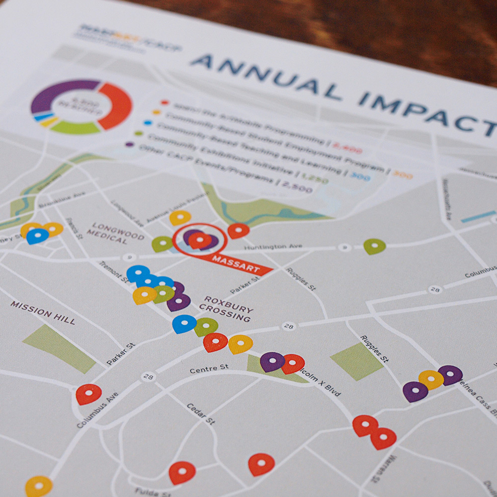 Massart Annual Impact Map