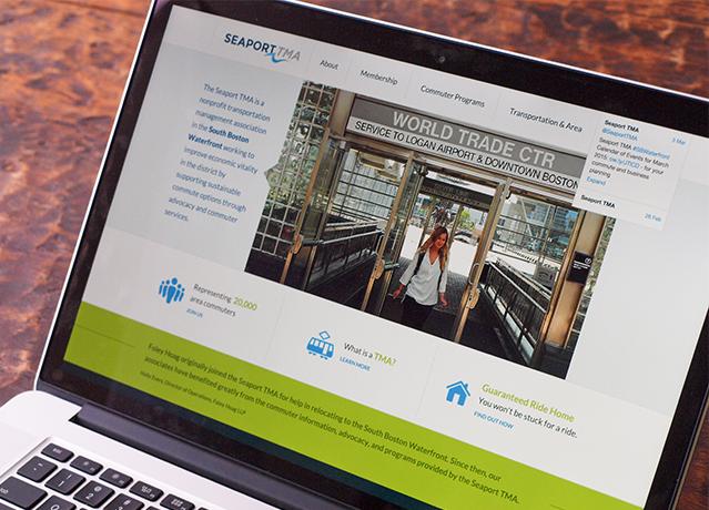 SeaportTMA website design