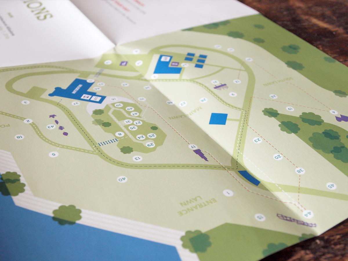 Decordova Park Map design
