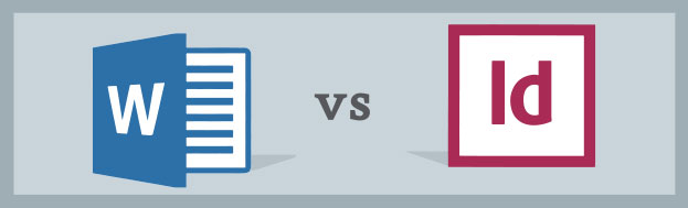 Word vs InDesign