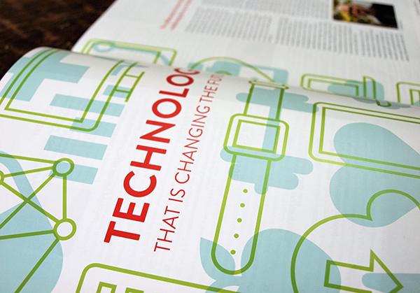 Alumni Magazine Infographic