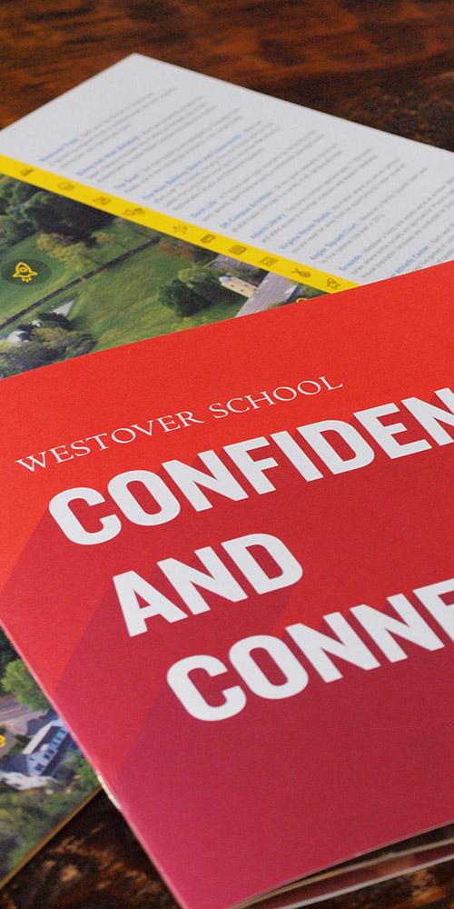 Westover School Viewbook Design