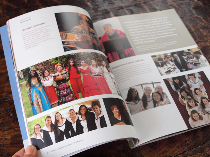 Inside the Westover school alumni magazine