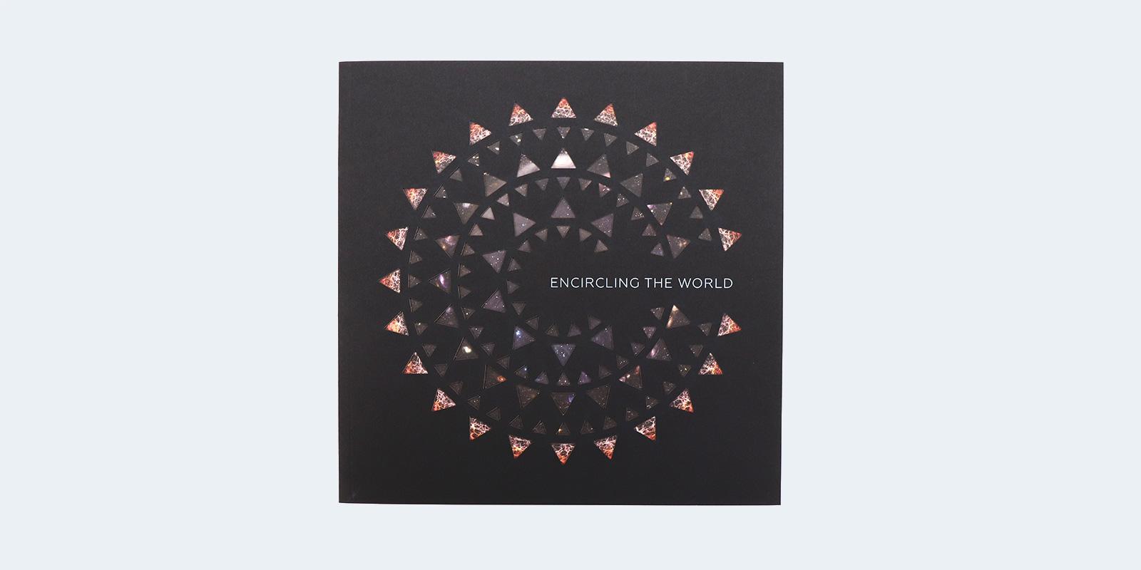 MassArt Encircling the World Catalog Design