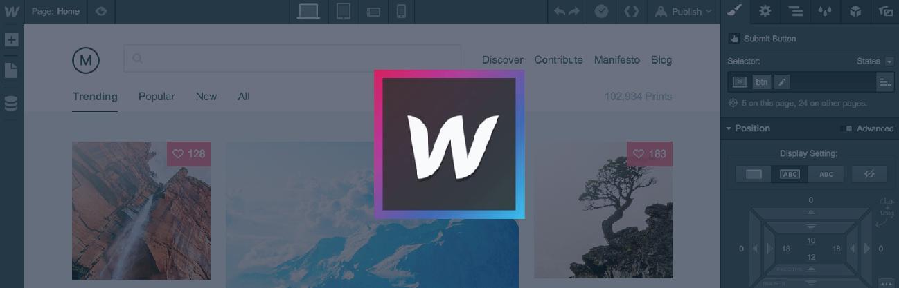 Why We Love Webflow - Opus Design