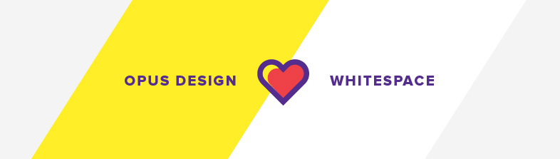 opus design loves whitespace