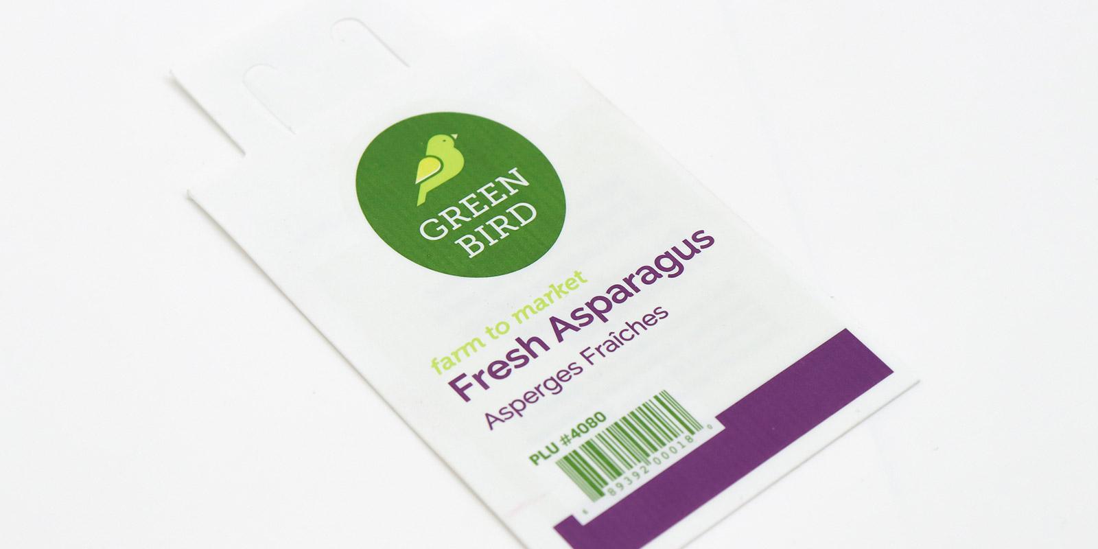 Westcoast Fresh tag design