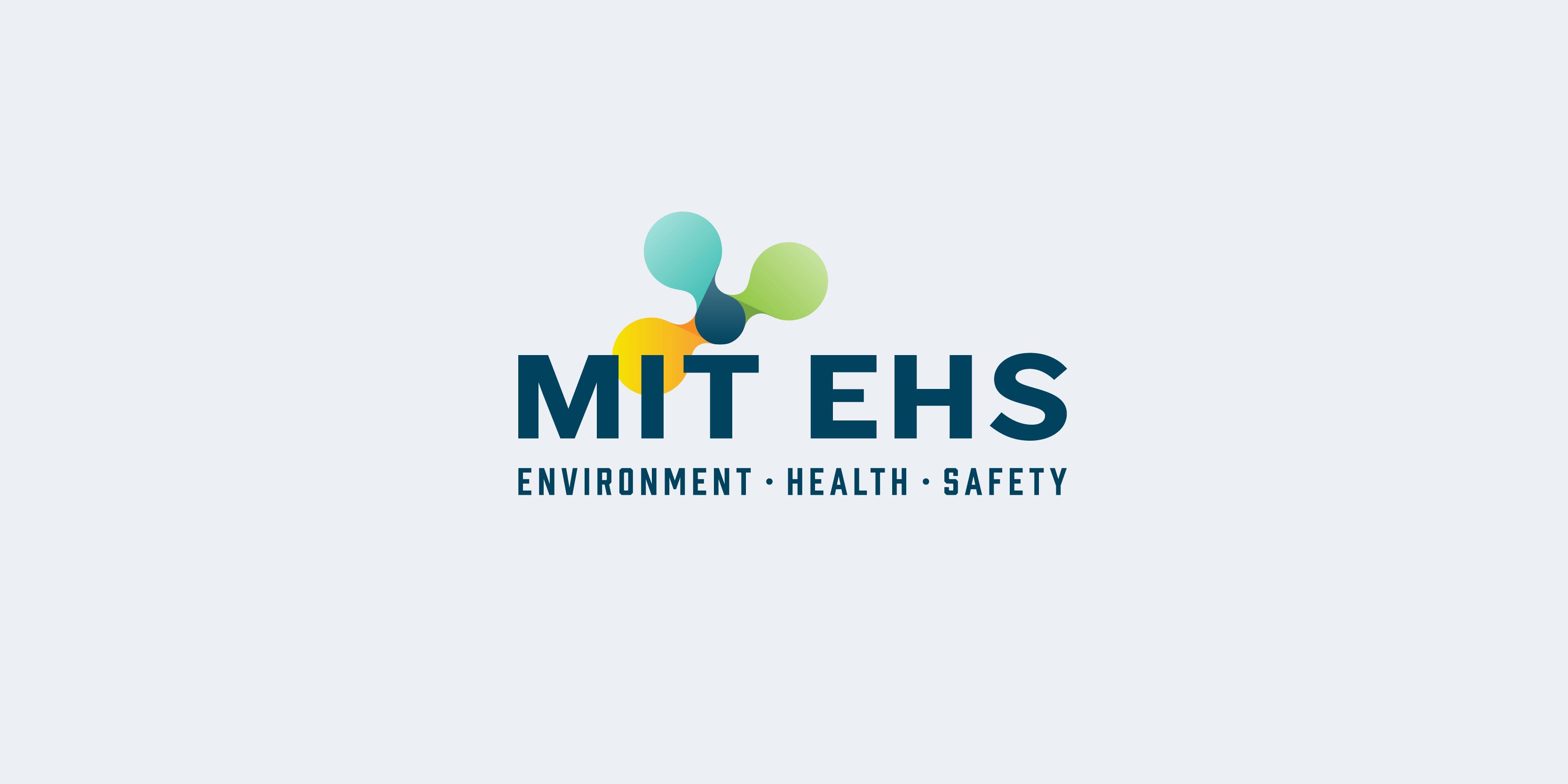 MIT EHS logo design