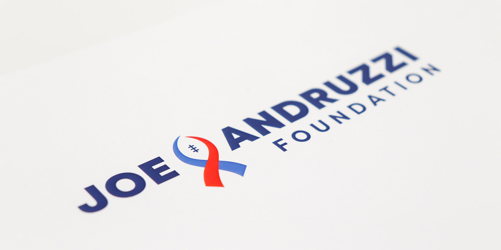 Joe Andruzzi Foundation logo design