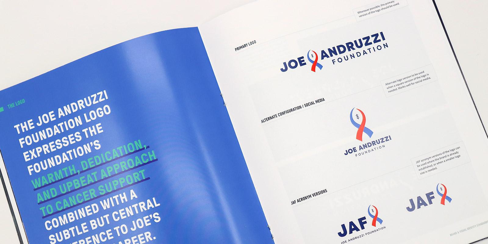 Joe Andruzzi Foundation logo design