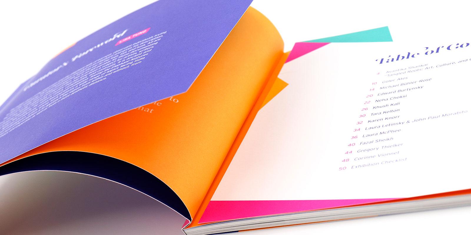 MassArt Exhibition Catalog Seeing the Elephant - Print Design