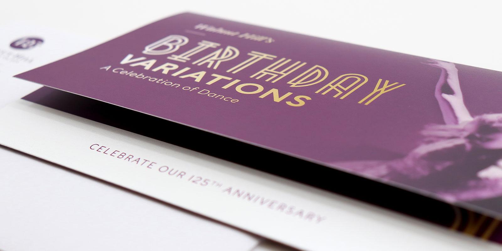 Walnut Hill Invitation Design