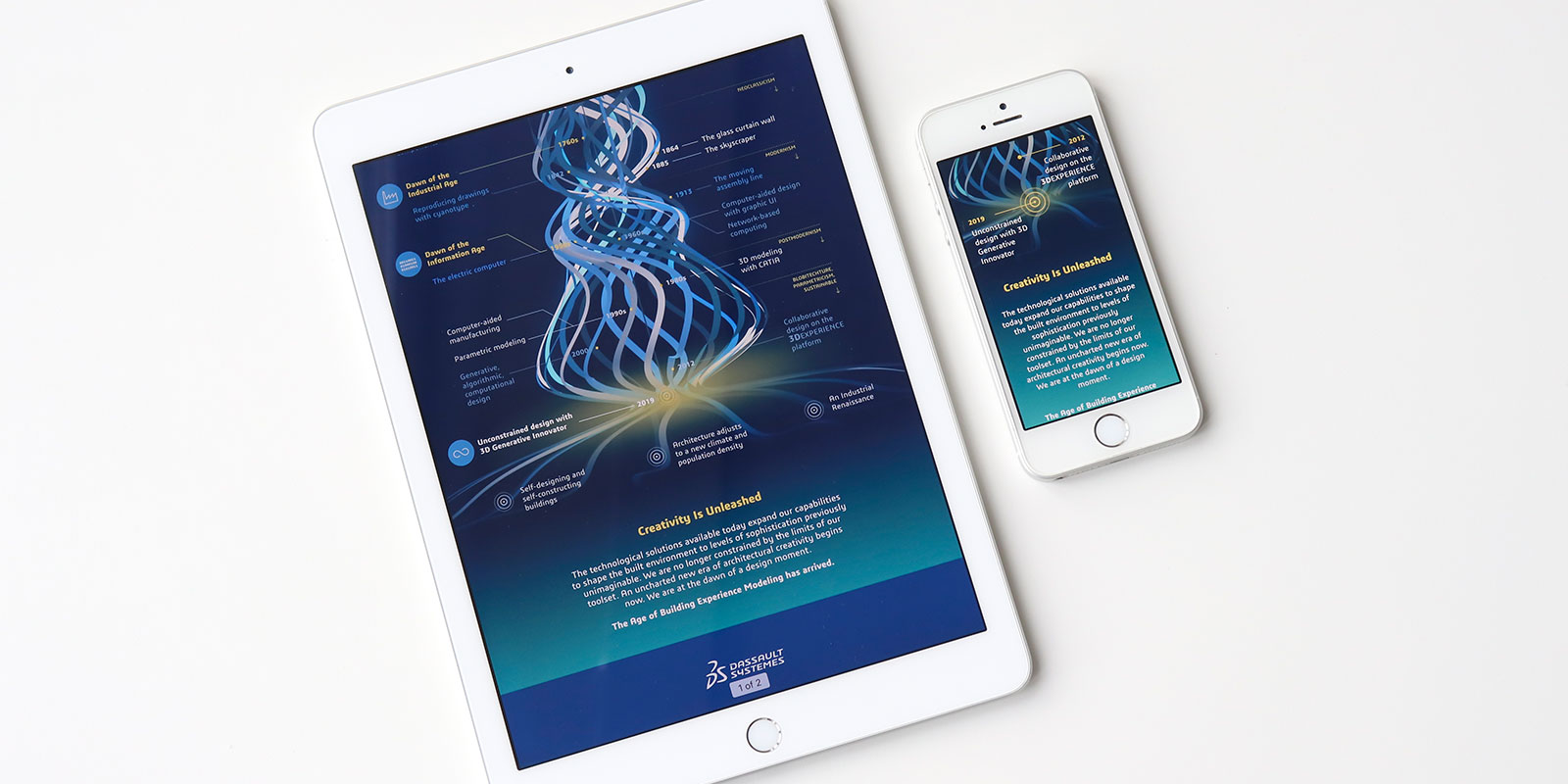 Dassault Infographic design