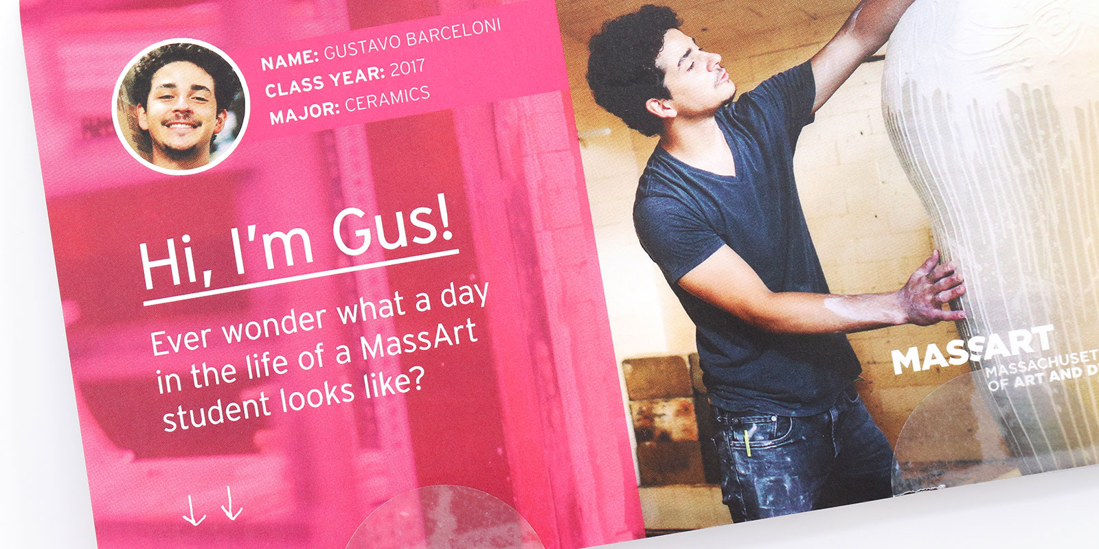 Massachusetts College of Art and Design Direct Mail