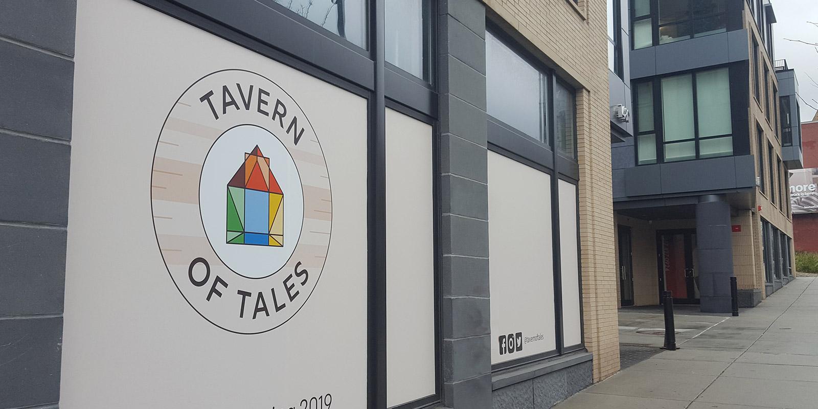 Tavern of Tales logo design