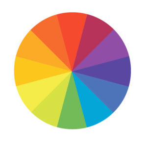 Visualization of color wheel
