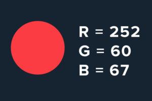 R=252 G=60 B=67