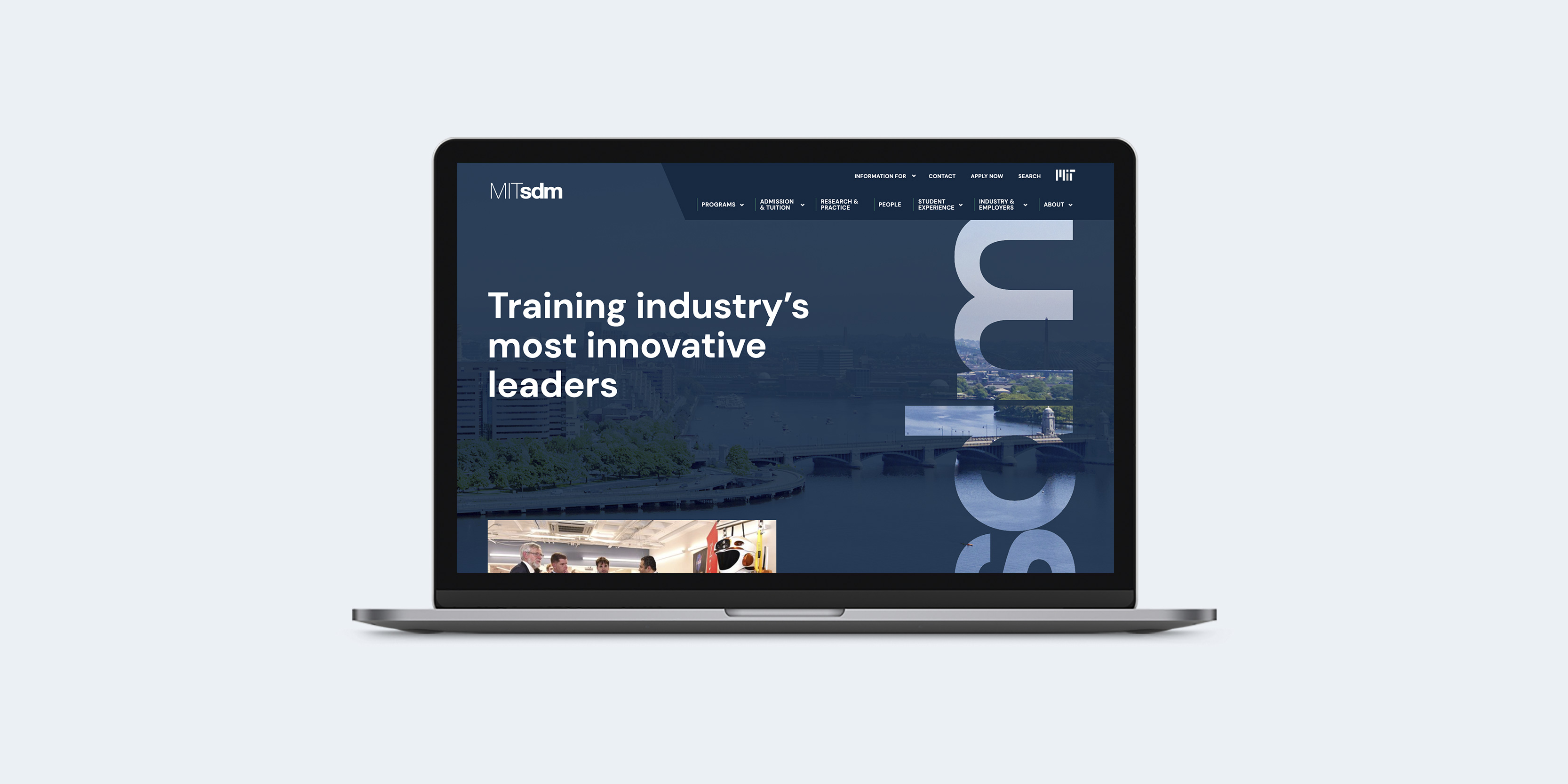MIT SDM website design