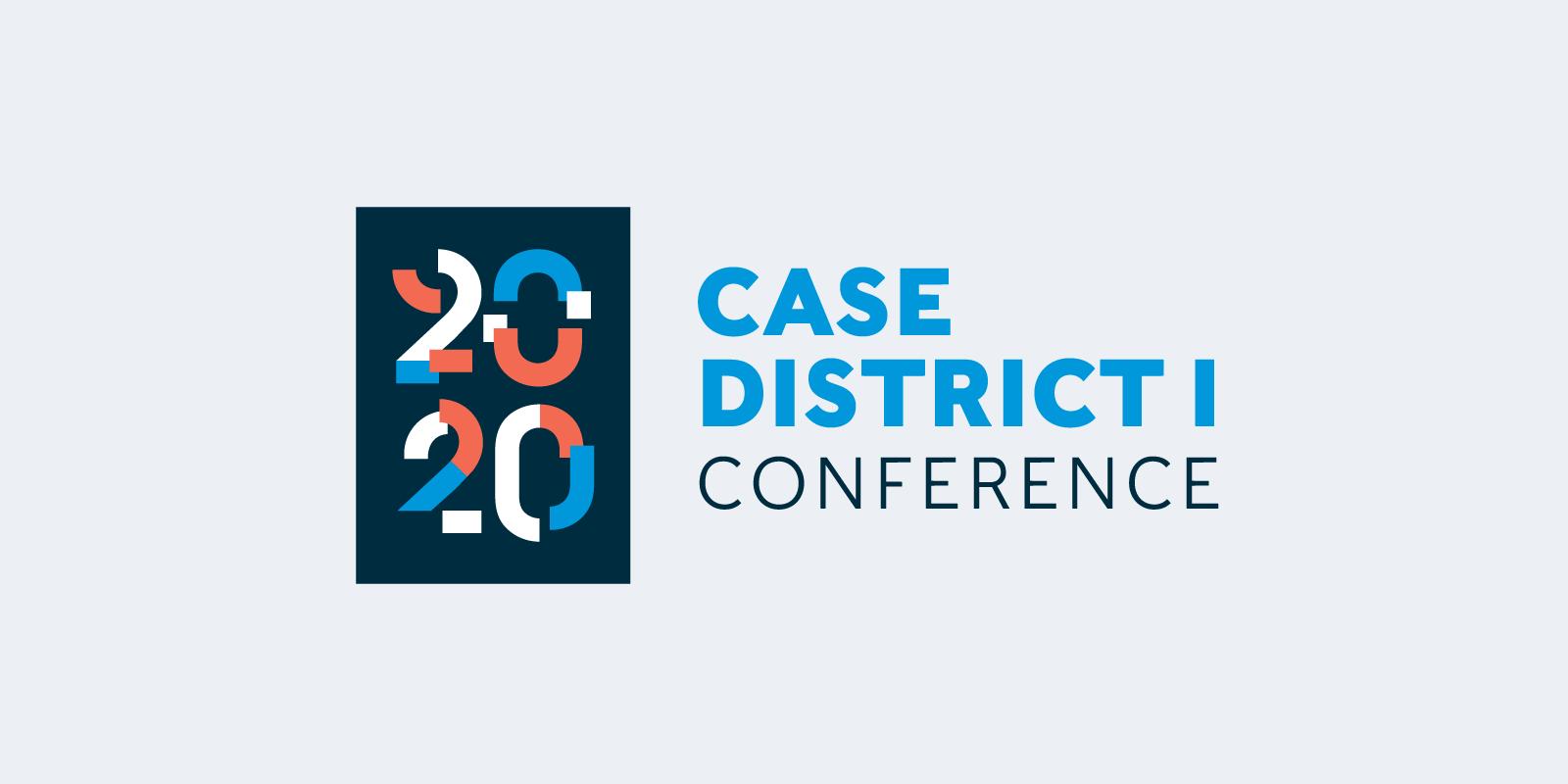 CASE D1 Conference logo design