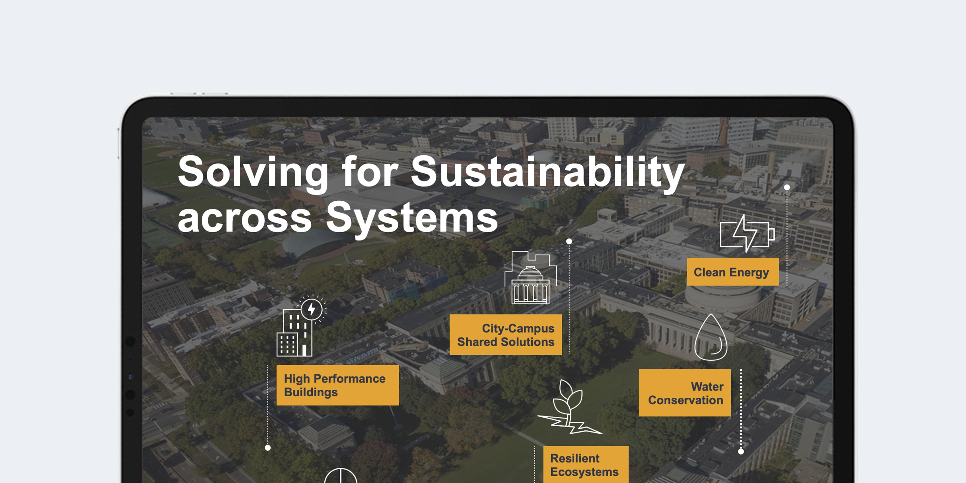 Solving for Sustainability infographic