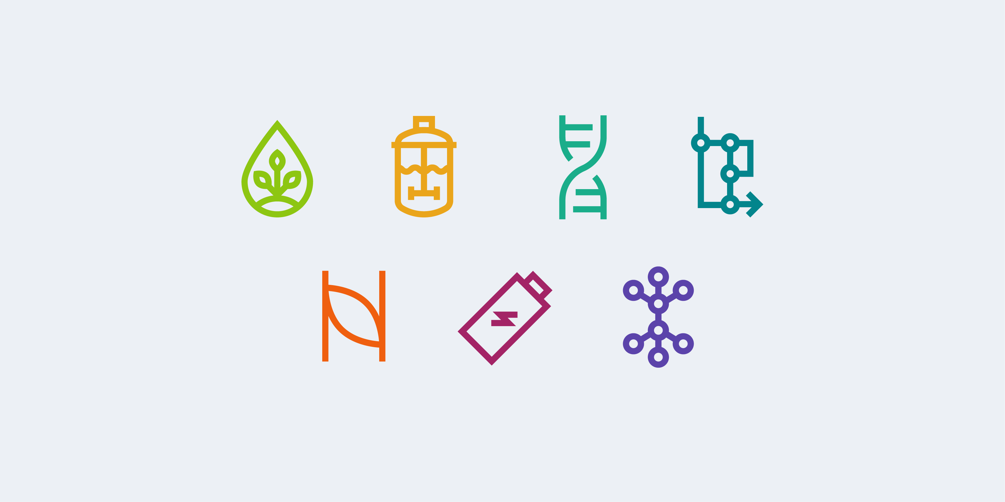 MIT ChemE research area icons