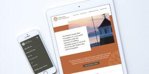 Robert Jensen Dau Foundation Website Design