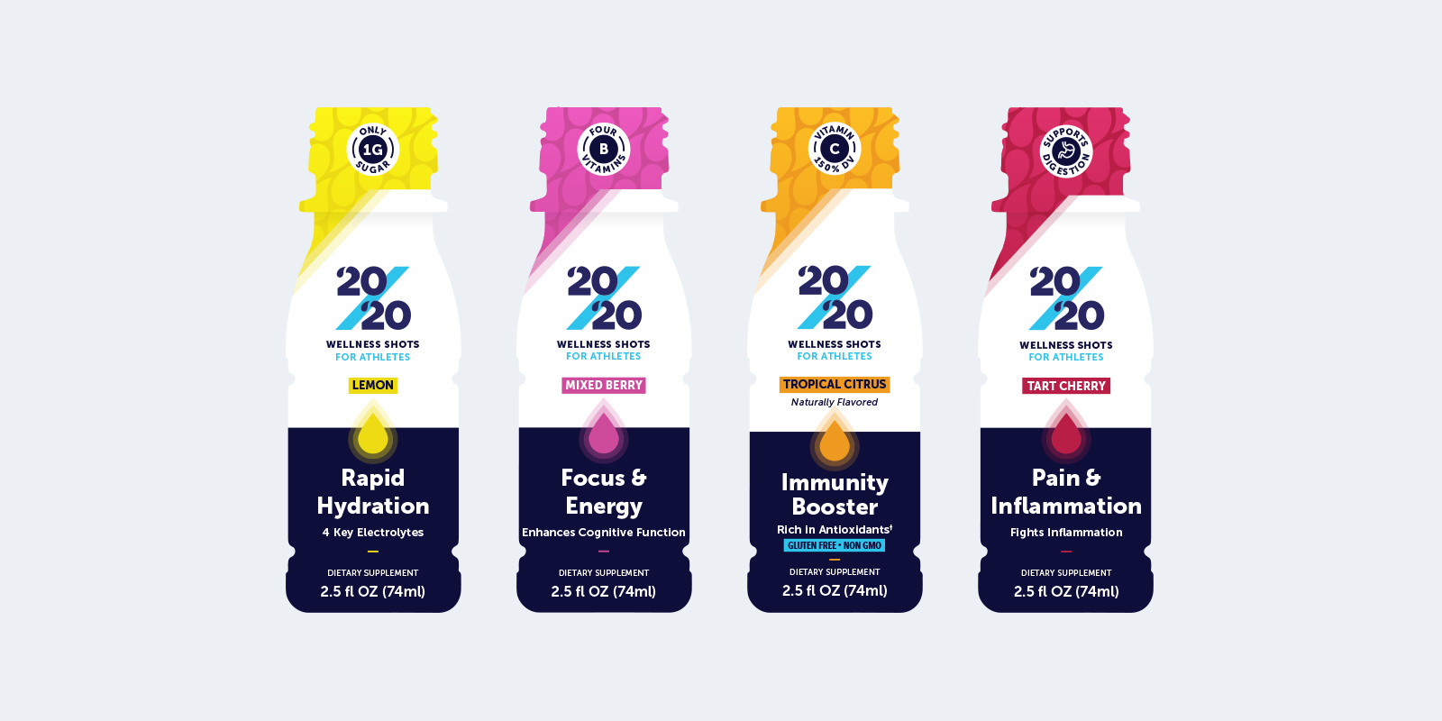 20/20 Wellness Shot Packaging