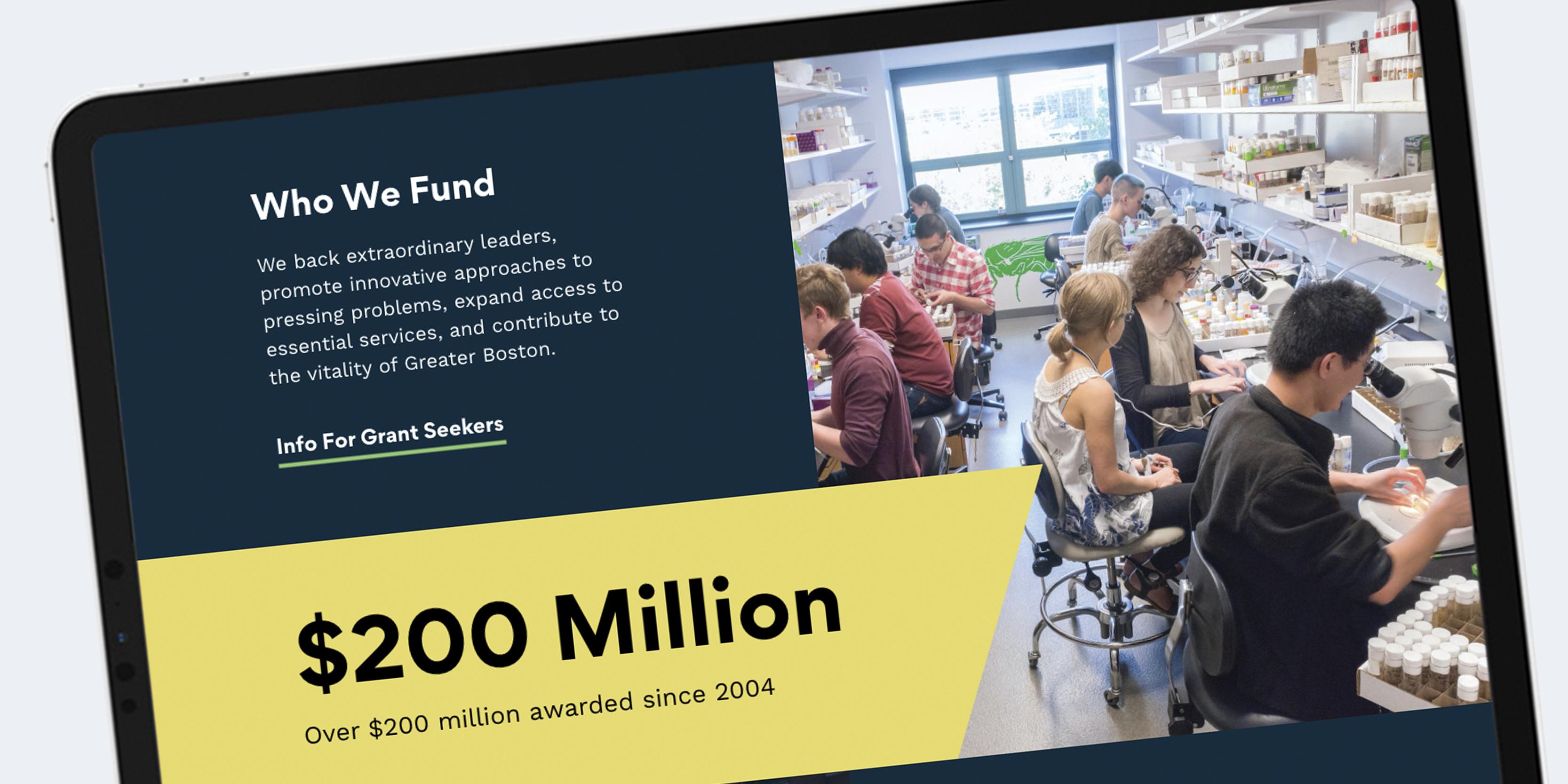 Smith Family Foundation Website Design