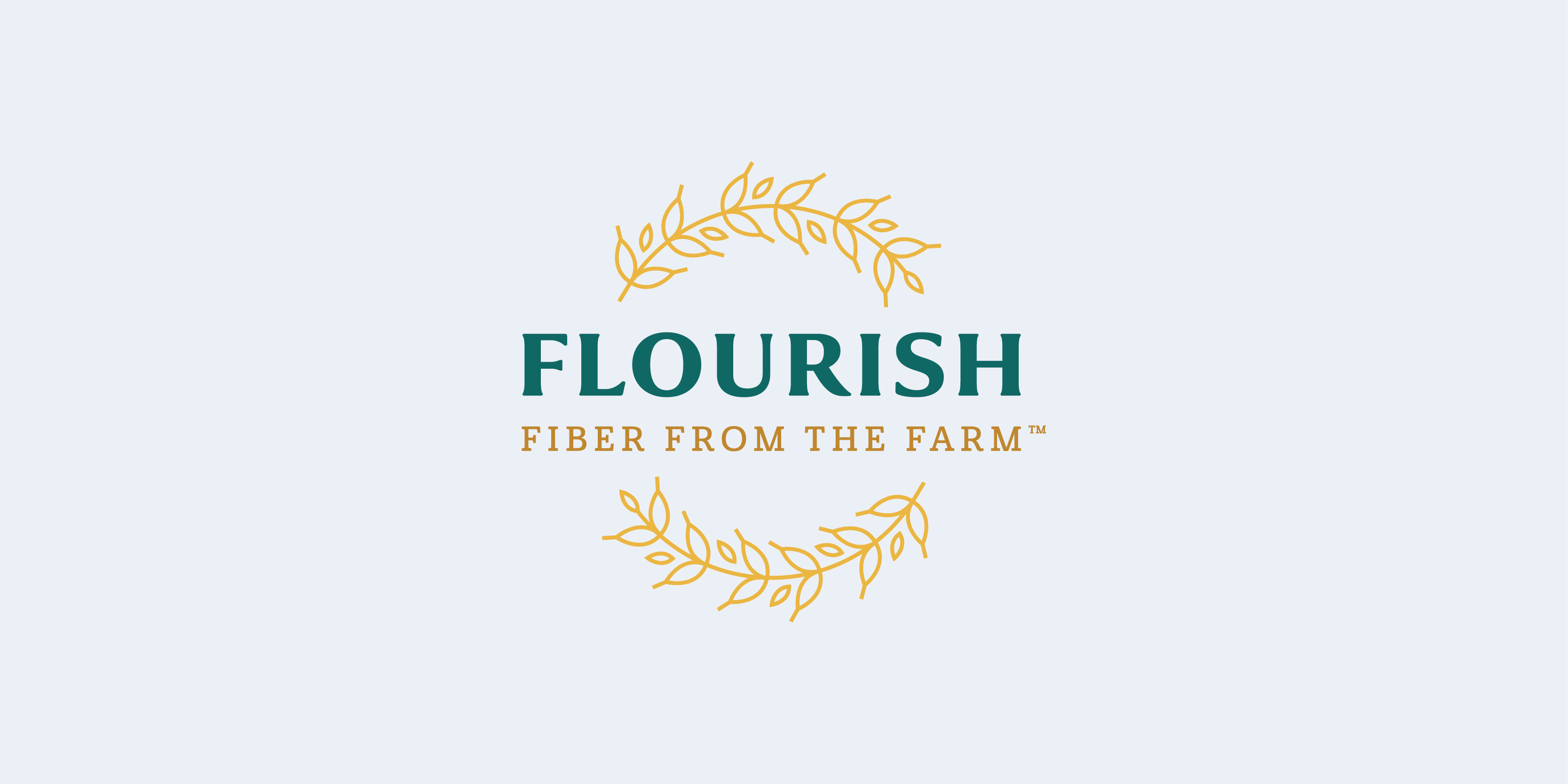 Flourish logo design