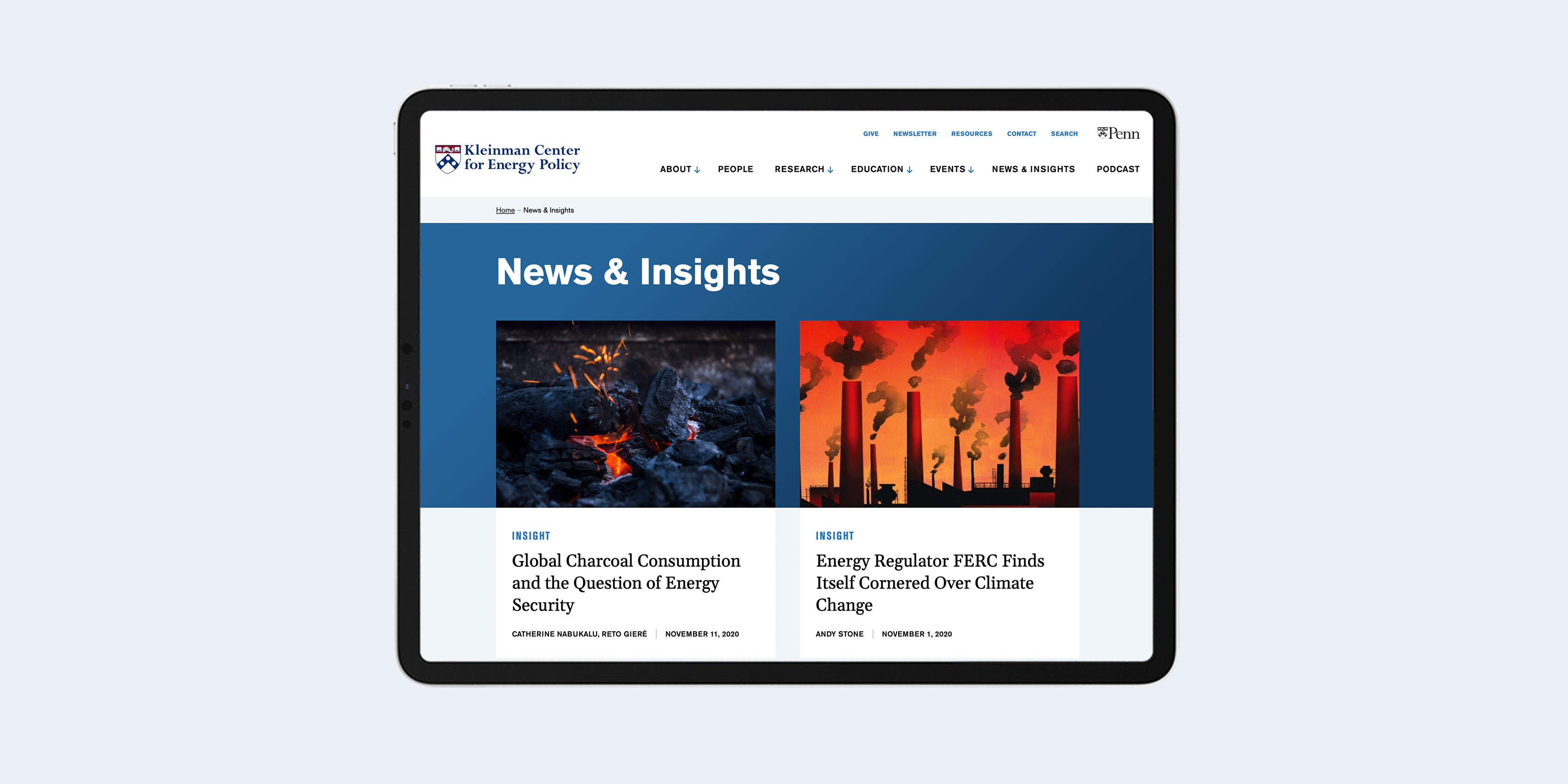 Kleinman Center - Energy policy research website