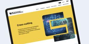 MIT Schwarzman College of Computing website design